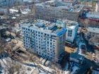 Ход строительства дома №1 в ЖК Премиум - фото 54, Апрель 2018