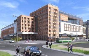 Административный торгово-офисный центр наул.Литвинова