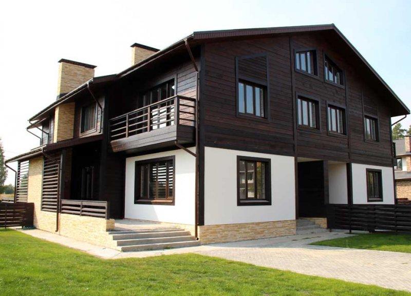 Дом Типа квадрохаус (158,6 м2) в КП DolinaGreen (Долина Грин) - фото 1