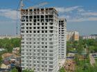 Ход строительства дома № 1 второй пусковой комплекс в ЖК Маяковский Парк - фото 28, Май 2021