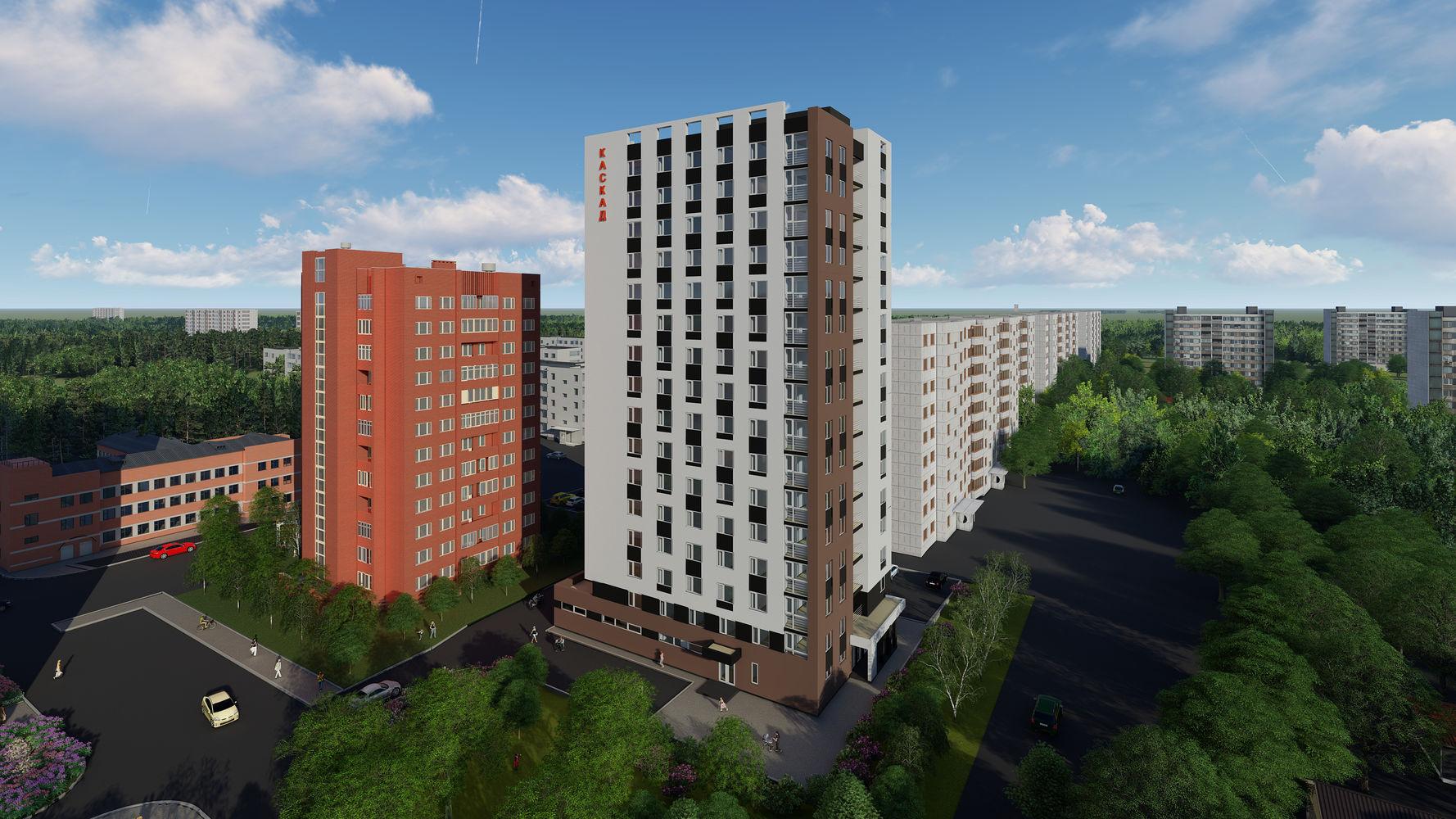 Жилой комплекс «Каскад на Сусловой» в Нижнем Новгороде - фото 1