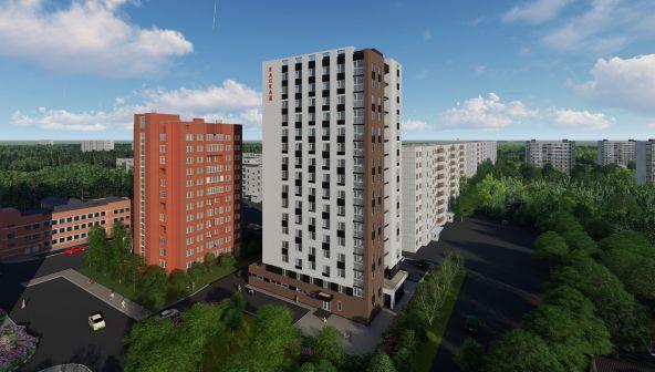 Жилой комплекс «Каскад на Сусловой» в Нижнем Новгороде