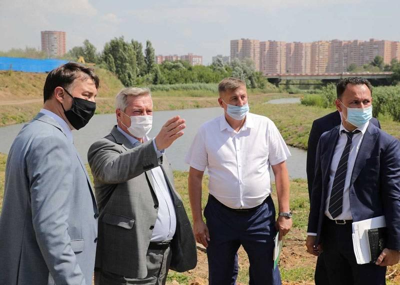 Губернатор Василий Голубев призвал оставить парк «Дружба» природной зоной