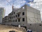 Ход строительства дома № 4 в ЖК Корабли - фото 14, Июнь 2021