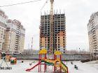 ЖК Горизонт - ход строительства, фото 11, Март 2021