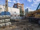 ЖК Островский - ход строительства, фото 103, Ноябрь 2018