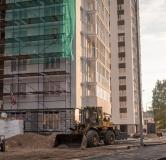 Ход строительства дома № 1, секция 1 в ЖК Заречье -