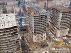 Ход строительства дома Литер 1 в ЖК Звезда Столицы - фото 86, Январь 2019