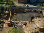 Ход строительства дома № 1 в ЖК Город чемпионов - фото 104, Август 2014
