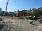 Ход строительства дома № 1 в ЖК Встреча - фото 77, Октябрь 2018