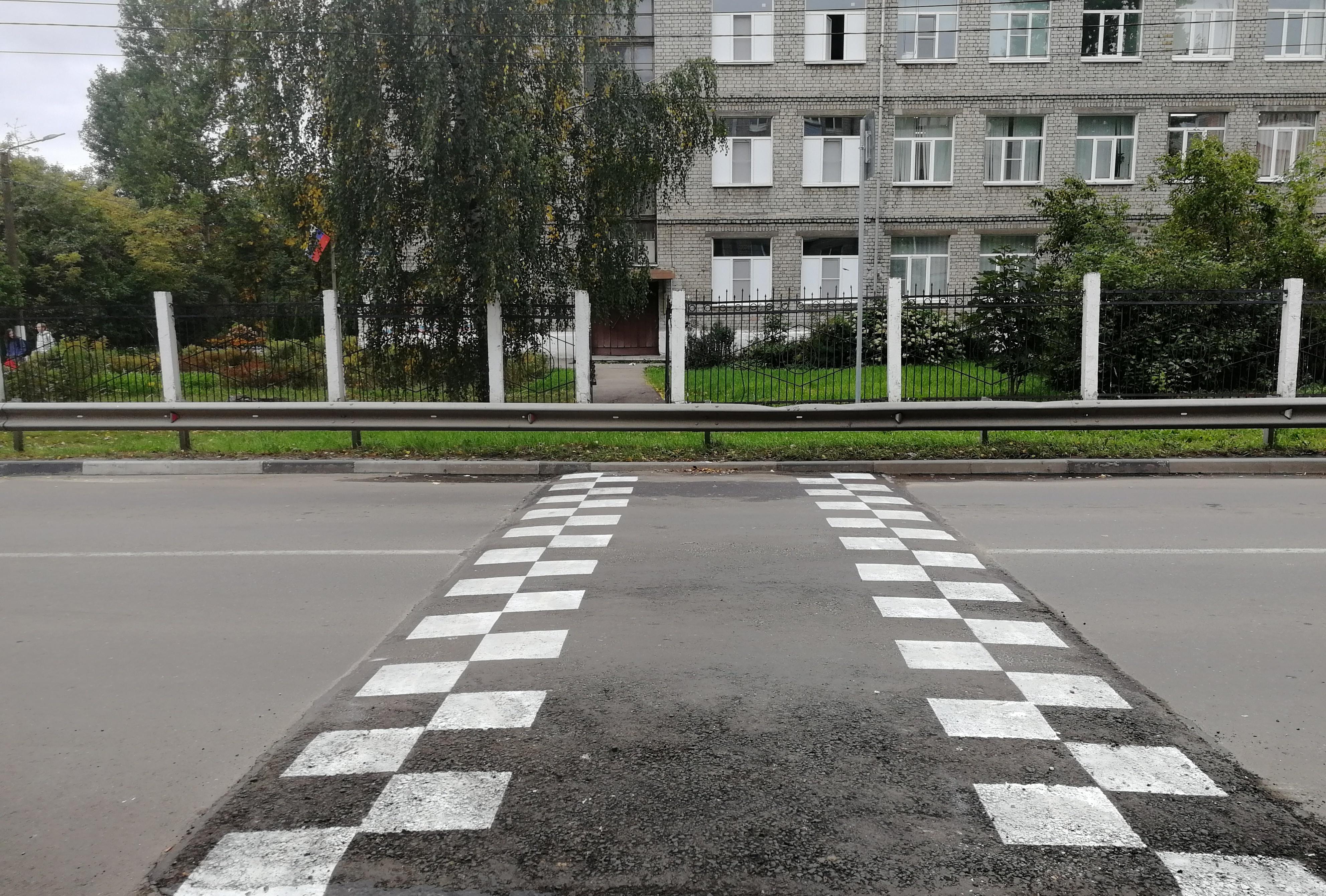 «Лежачие полицейские» установили у двух нижегородских школ и детсада - фото 1
