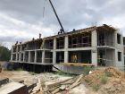 Ход строительства дома № 3 в ЖК Подкова на Родионова - фото 7, Август 2021