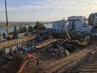 Ход строительства дома на Минина, 6 в ЖК Георгиевский - фото 54, Сентябрь 2020