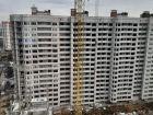 Жилой дом: №23 в мкр. Победа - ход строительства, фото 25, Февраль 2020