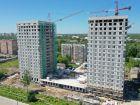 Ход строительства дома № 1 второй пусковой комплекс в ЖК Маяковский Парк - фото 23, Июнь 2021