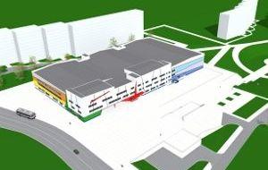 ФОК сподземной парковкой иинженерными сетями вНижегородском районе